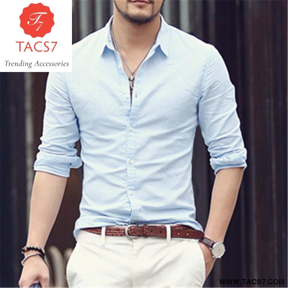 e7962df6a1d2 Hawaiian Shirts Men Cotton Linen Designer Brand Slim Fit Man Shirts Long  Sleeve White Shirts For Men Clothes Spring