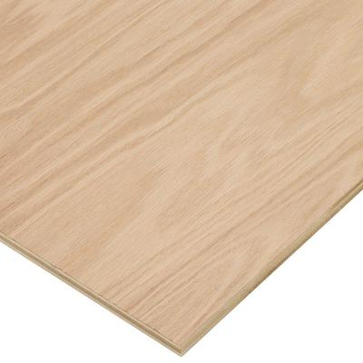 Columbia Forest Products 1/2 in. x 4 ft. x 4 ft. PureBond Red Oak Plywood Project Panel