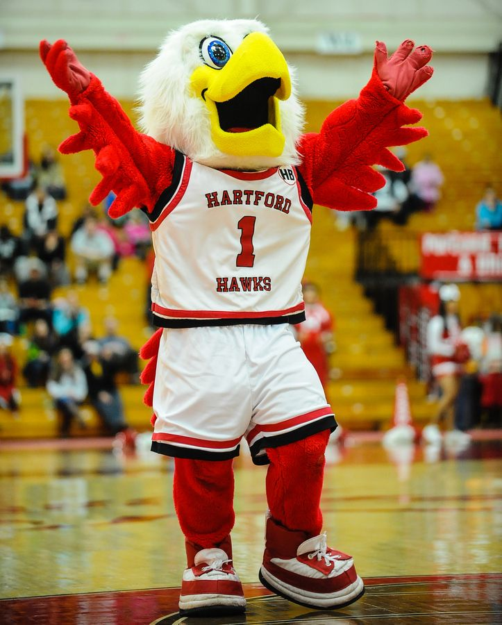 Hartford Hawks Mascot, Howie The Hawk
