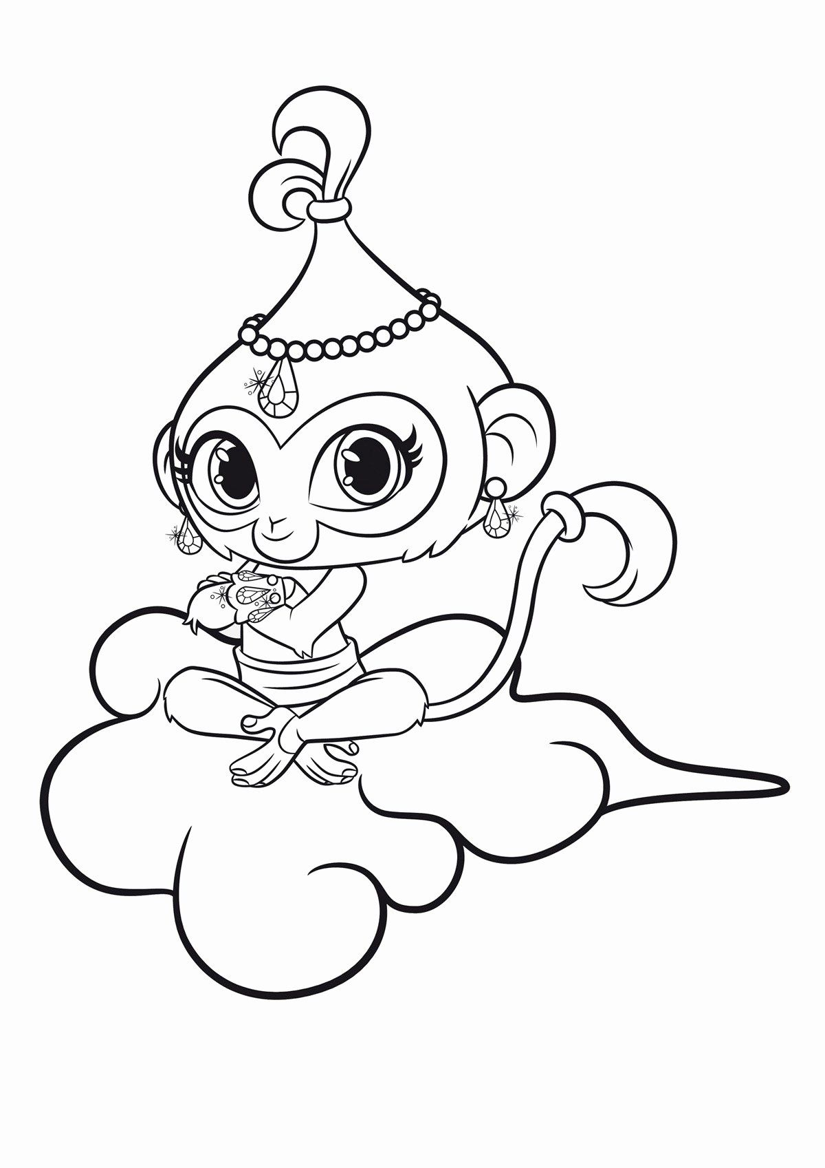 Shimmer And Shine Coloring Awesome Coloring Pages Coloring Shimmer And Shine Best Ages Leah Mermaid Coloring Pages Coloring Pages Free Coloring Pages