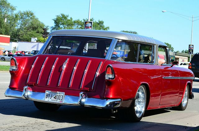 1955 Chevy Nomad Classic Cars Chevy Nomad Station Wagon Cars
