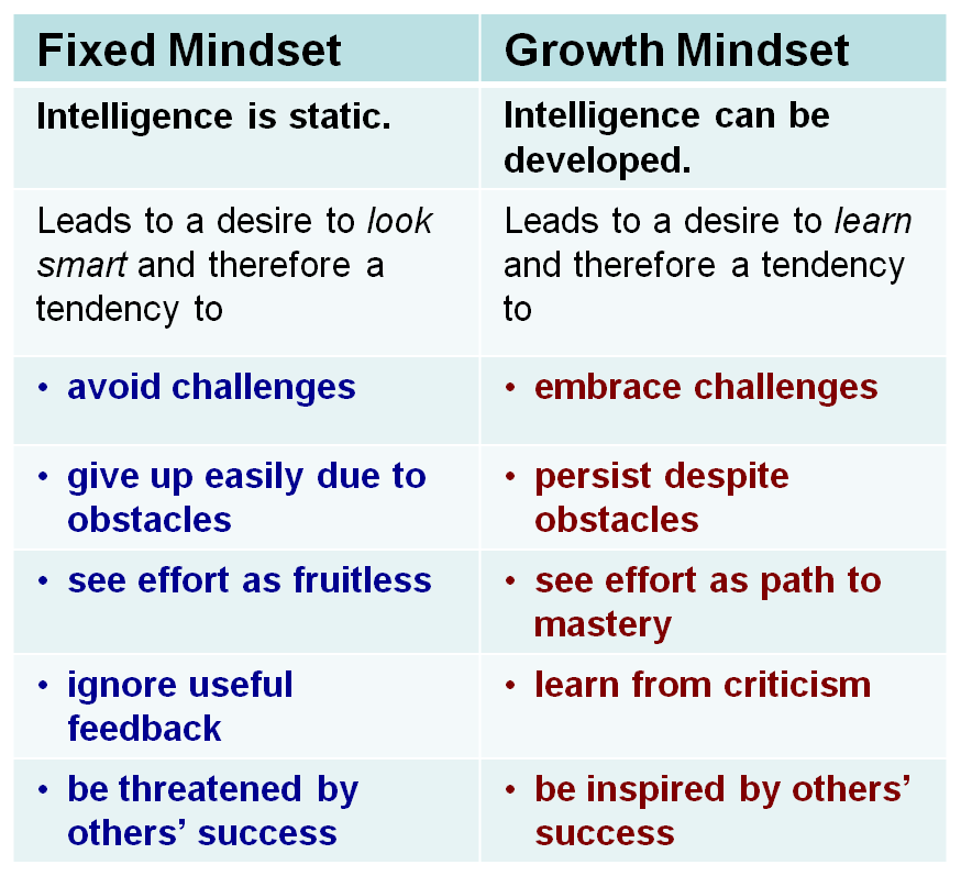 Image result for growth mindset model
