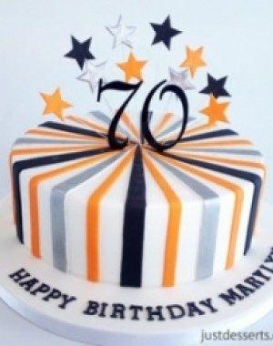 Men 70Th Birthday Cake Ideas Feeling Like Party