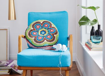 Grote Mandala Met Cirkels S10098 Schachenmayr Haken Dekens En