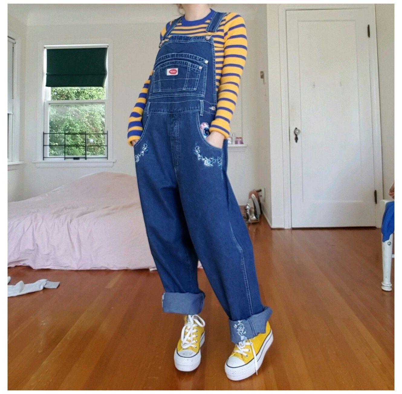 overalls aesthetic