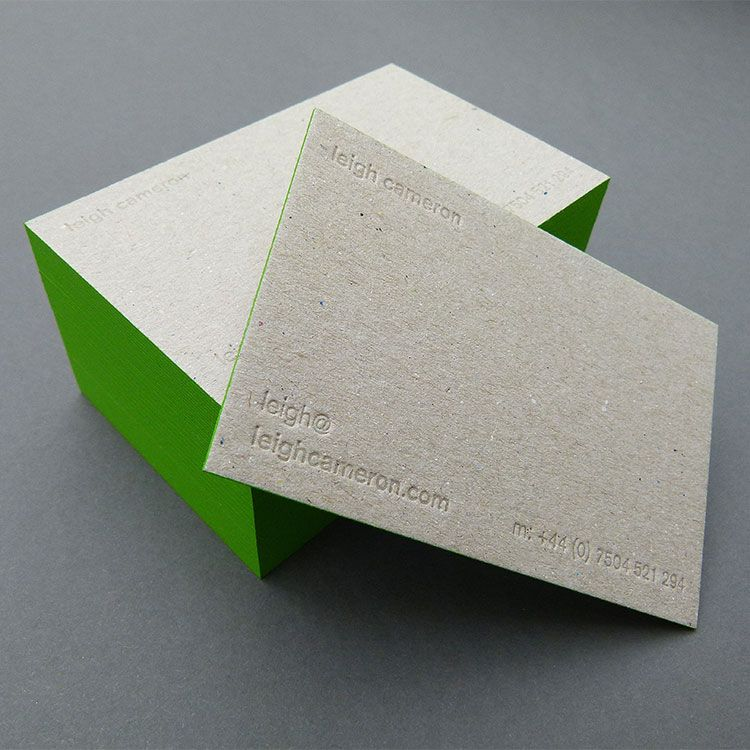 Image result for recycled business card   Business Card ...