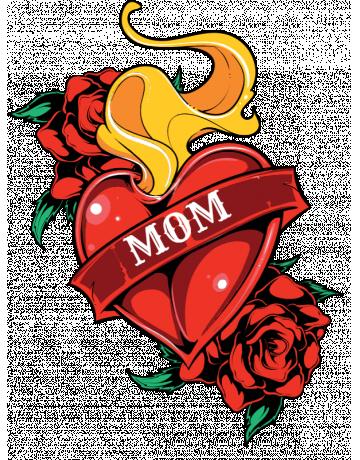 Mom Tattoo Mom Tattoos Biker Mom