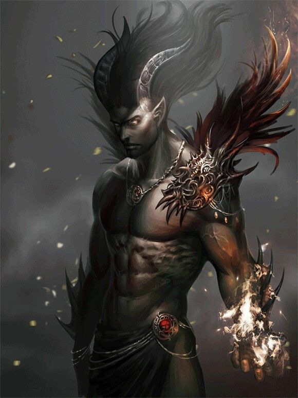 Demon Male Fantasy Art