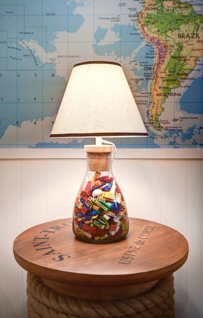 Recyclez vos LEGO, une idée 100 déco ! Lego pieces, Playrooms and