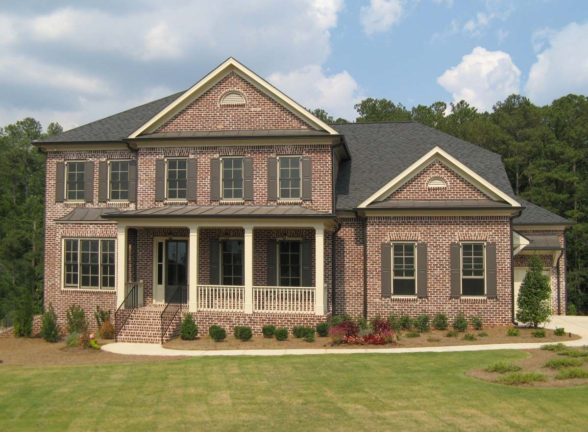 brick homes brick new atlanta home at hays farm in marietta a community by. Interior Design Ideas. Home Design Ideas