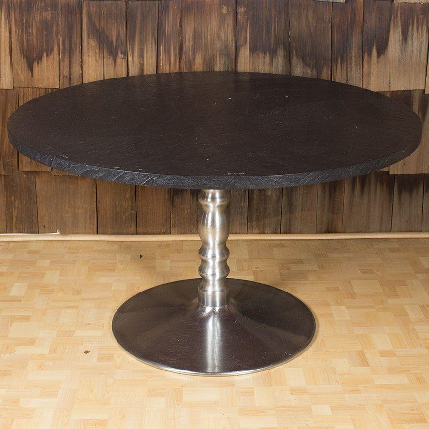 Vintage Modern Pedestal Dining Table Pedestal Dining Table - Mid century pedestal dining table