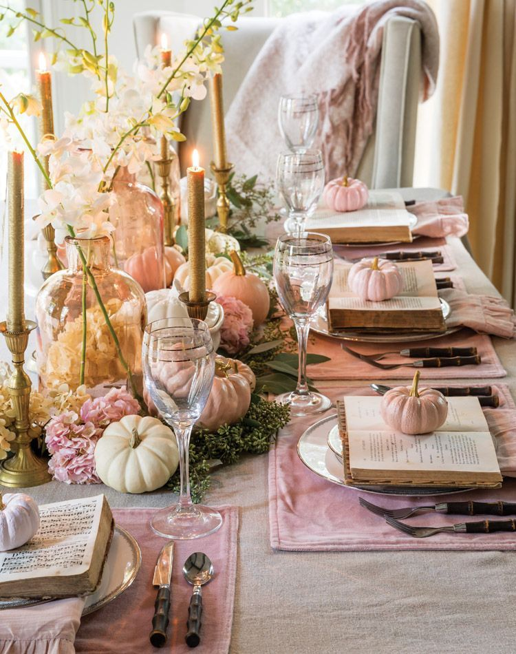 35+ Glam Thanksgiving Decorations and Inspiration Photos | -   18 thanksgiving home decor ideas