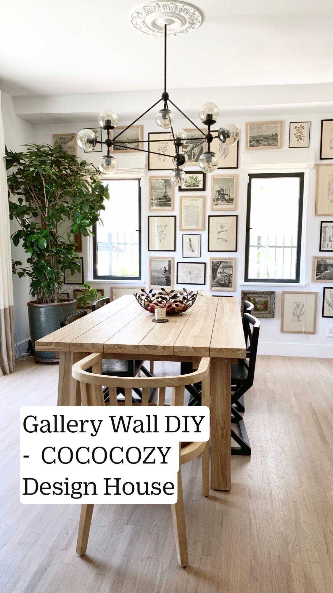 Gallery Wall DIY –  COCOCOZY Design House