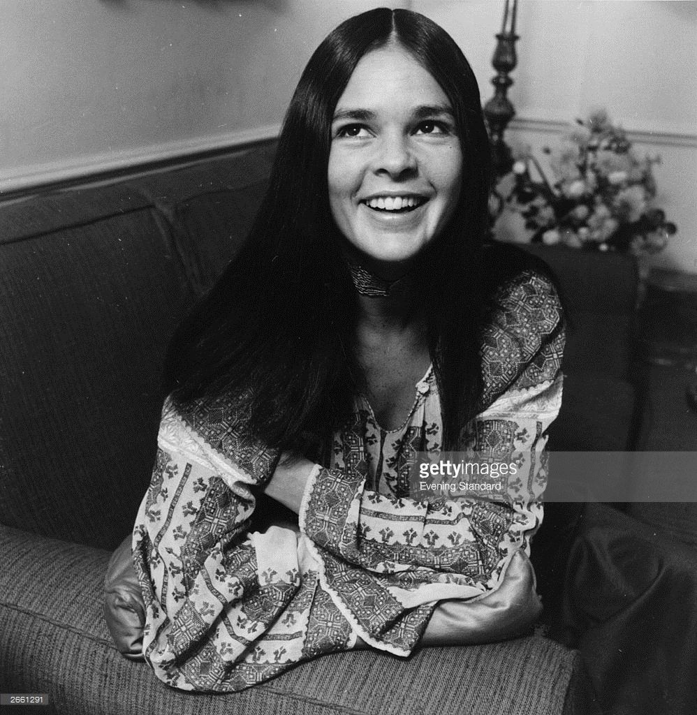 American actress ali macgraw smiles for the camera