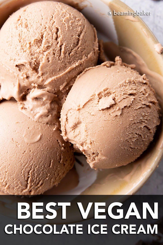 Best Vegan Chocolate Ice Cream Recipe In 2020 Vegan Chocolate Ice Cream Recipe Chocolate Ice Cream Recipe Dairy Free Ice Cream Recipes