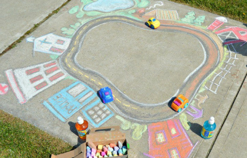 Your kids can be mayors of their very own sidewalk town!