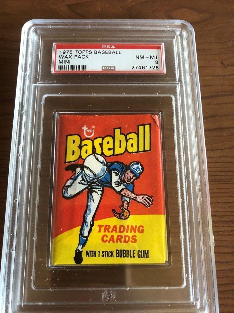 1975 topps baseball cards psa