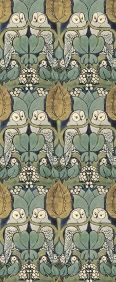 William Morris, Owl Pattern