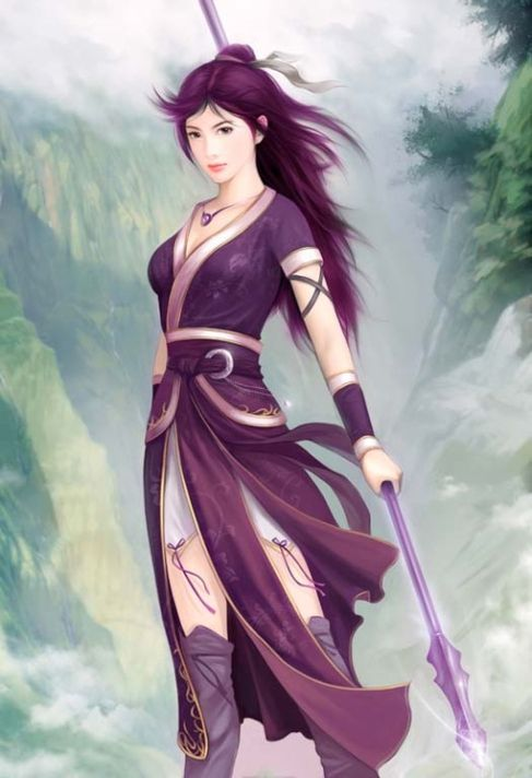 Pin De Jay Luo Em L5r Japan China Mulher Guerreira Guerreiro