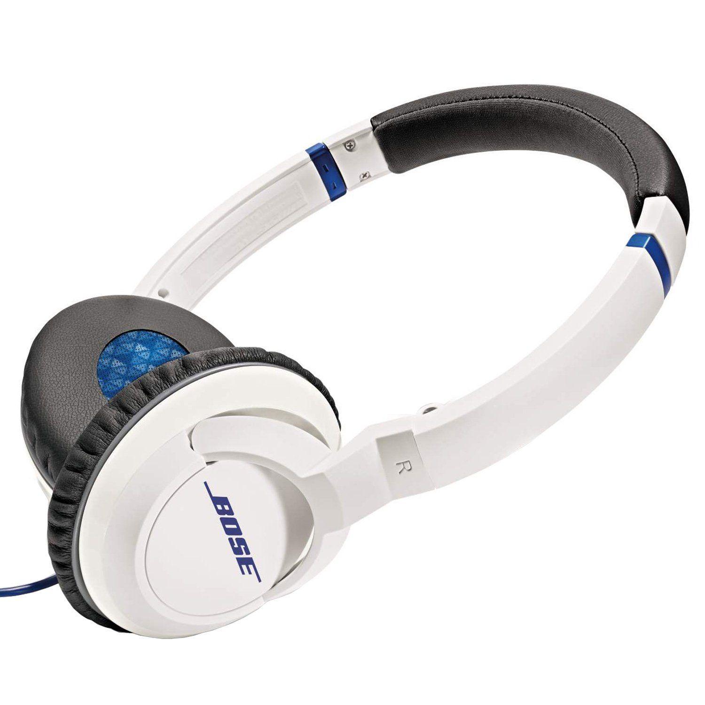 Amazon Com Bose Soundtrue Headphones On Ear Style White Electronics Bose Headphones Headphones Ear Style