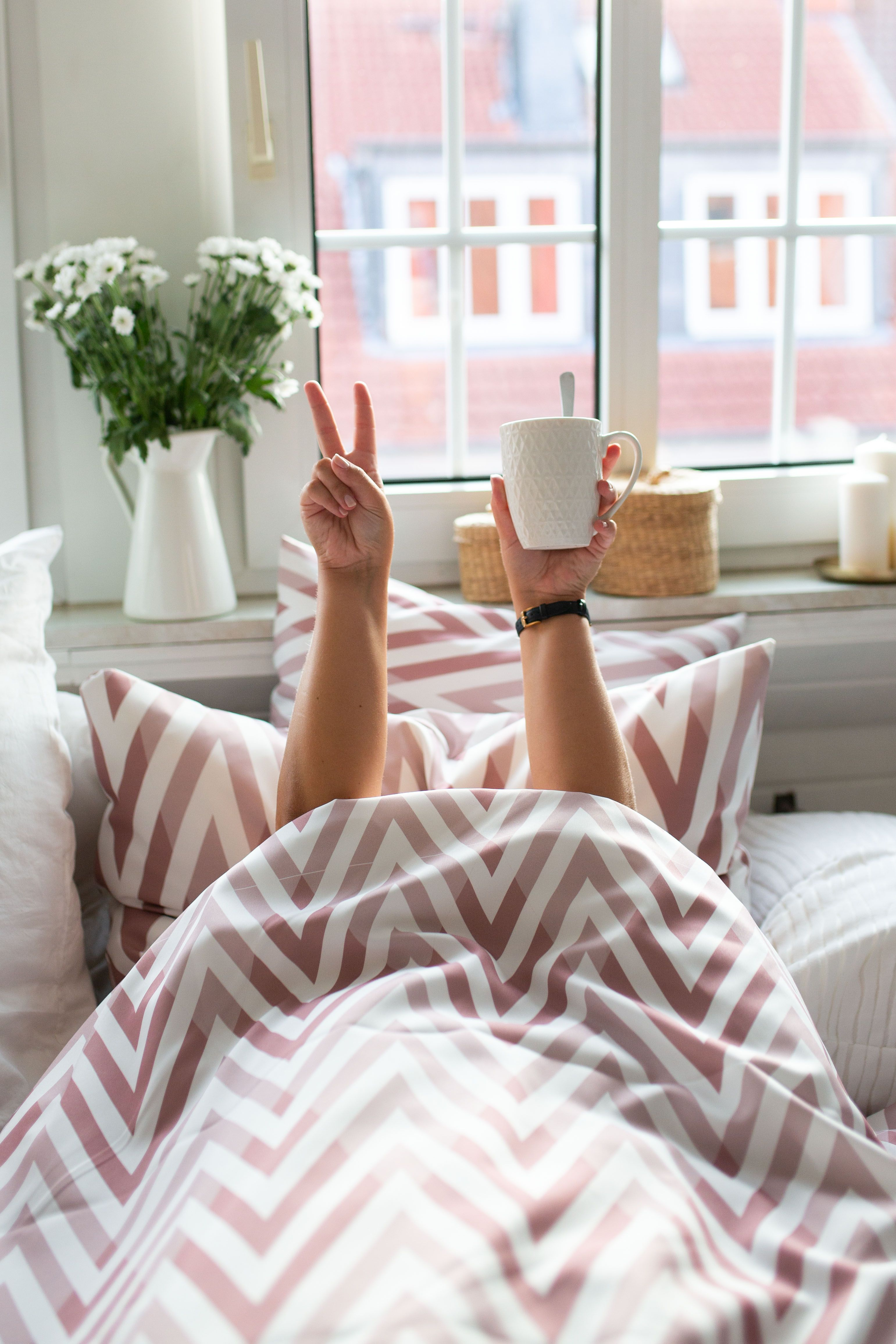 Schlafzimmer Schlafzimmer Ideen Bett Dekoration Bettwäsche