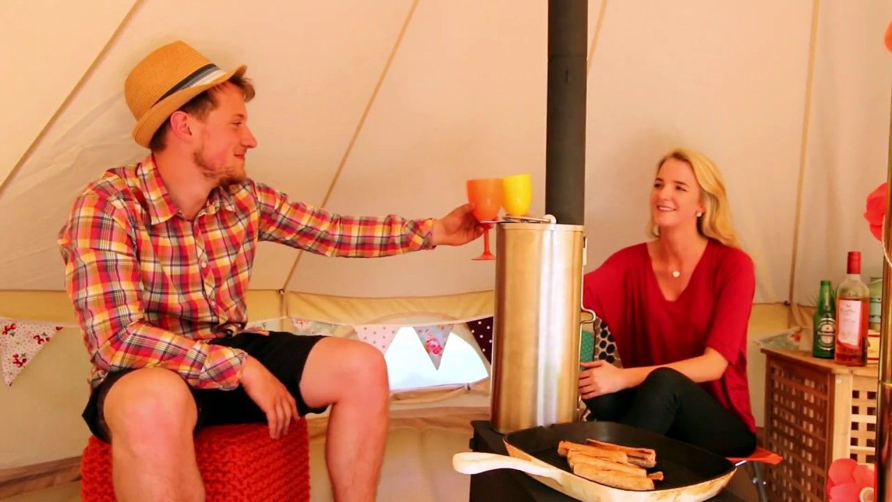 The Ultimate Campervan Awning Setup Youtube Campervan Awnings Tent Awning Bell Tent