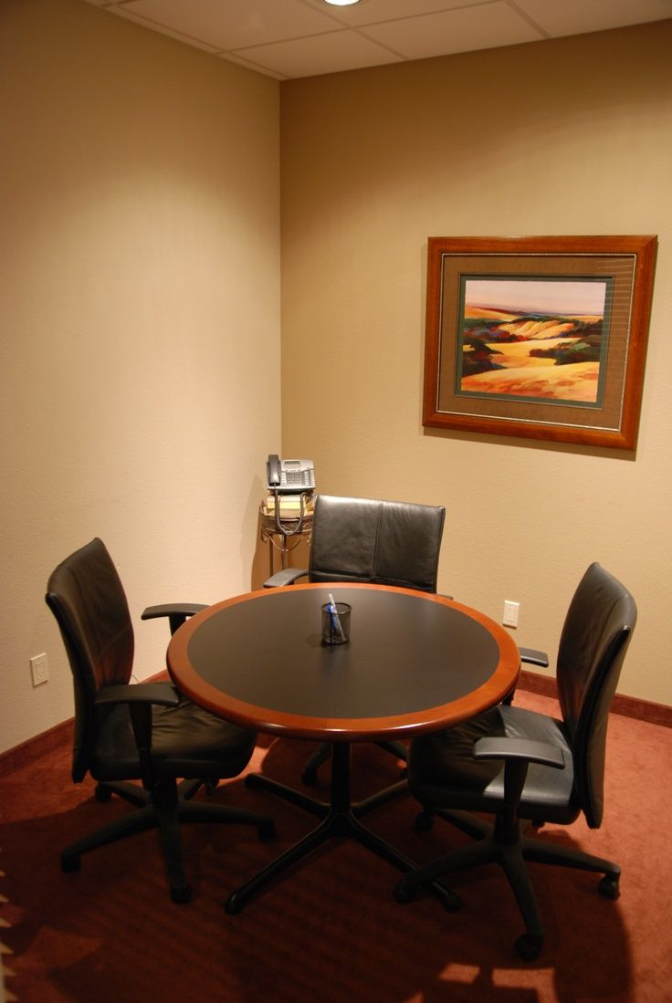 Conference Room Interior Design: Living Room Office, Office Decor