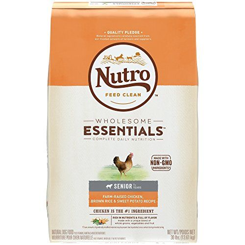 Nutro Wholesome Essentials Natural Dog Food 30 Lbs Chicken