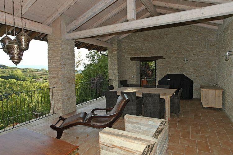 terraza rústica muebles modernos Viajes y ocio Pinterest