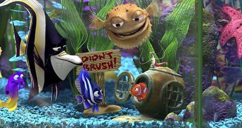Finding Nemo Fish Tank Characters Nemo