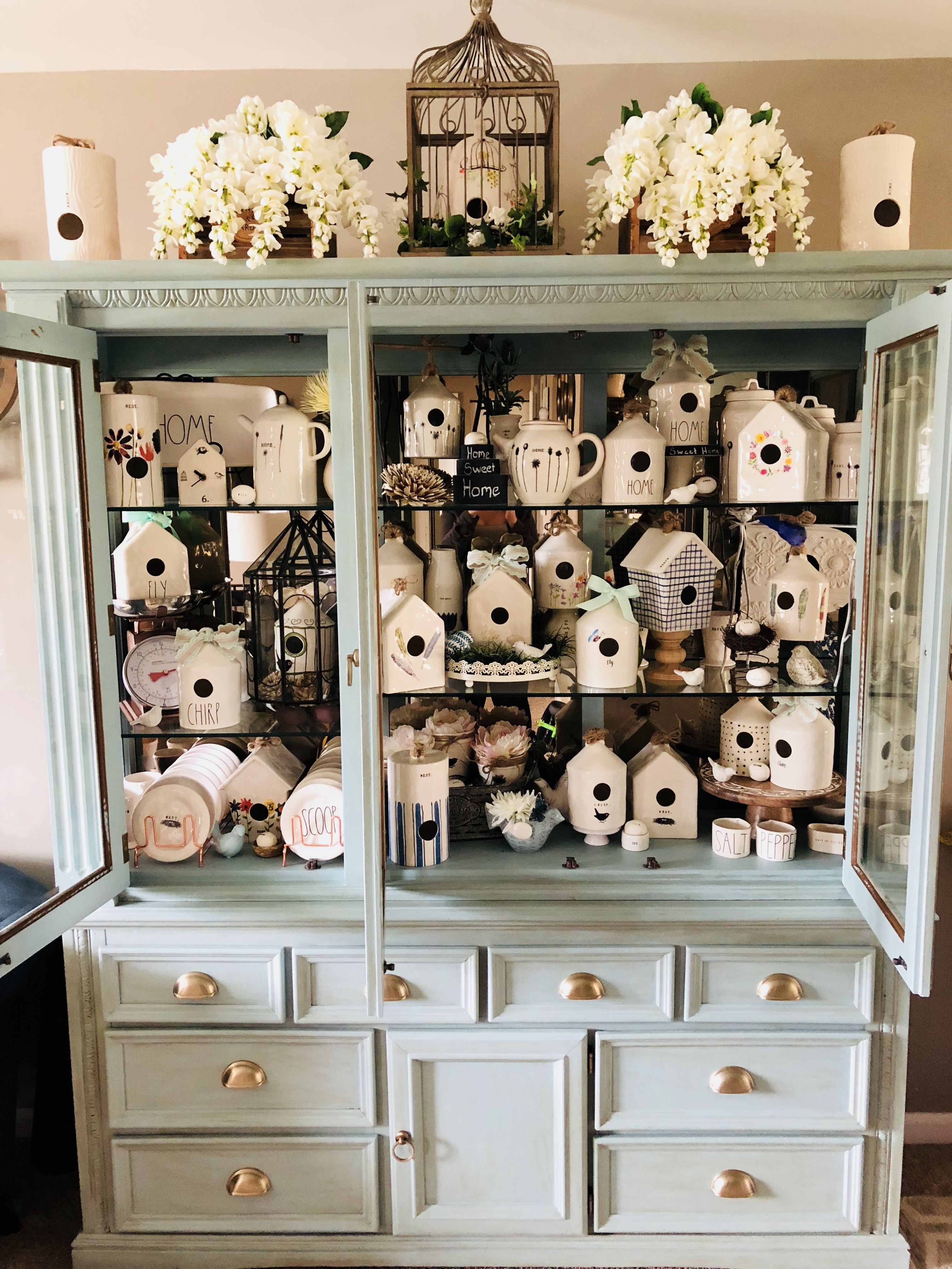 Hutch Decorating Ideas Farmhouse