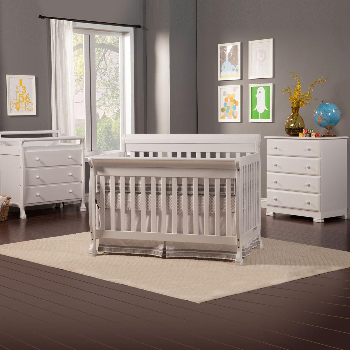Da Vinci 3 Piece Nursery Set Kalani Convertible Crib Kalani 3 Drawer Changer 4 Drawer Dresser White Free Shipping Davinci Convertible Crib Sets Convertible Crib Cribs [ 1200 x 1200 Pixel ]