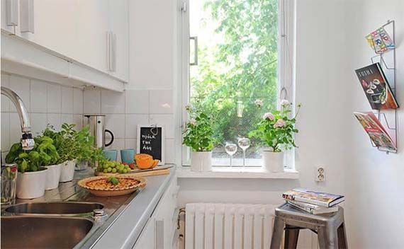1000 images about Small House Decorating Ideas on Pinterest. Decorating ideas for small apartment kitchens