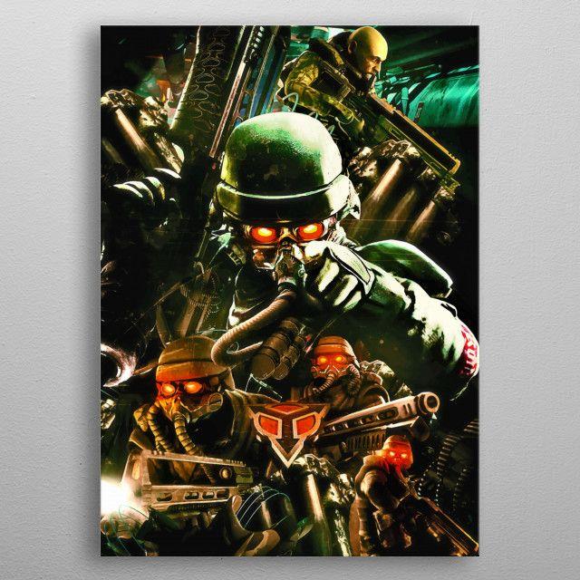 Killzone Ultimate metal poster | Displate thumbnail