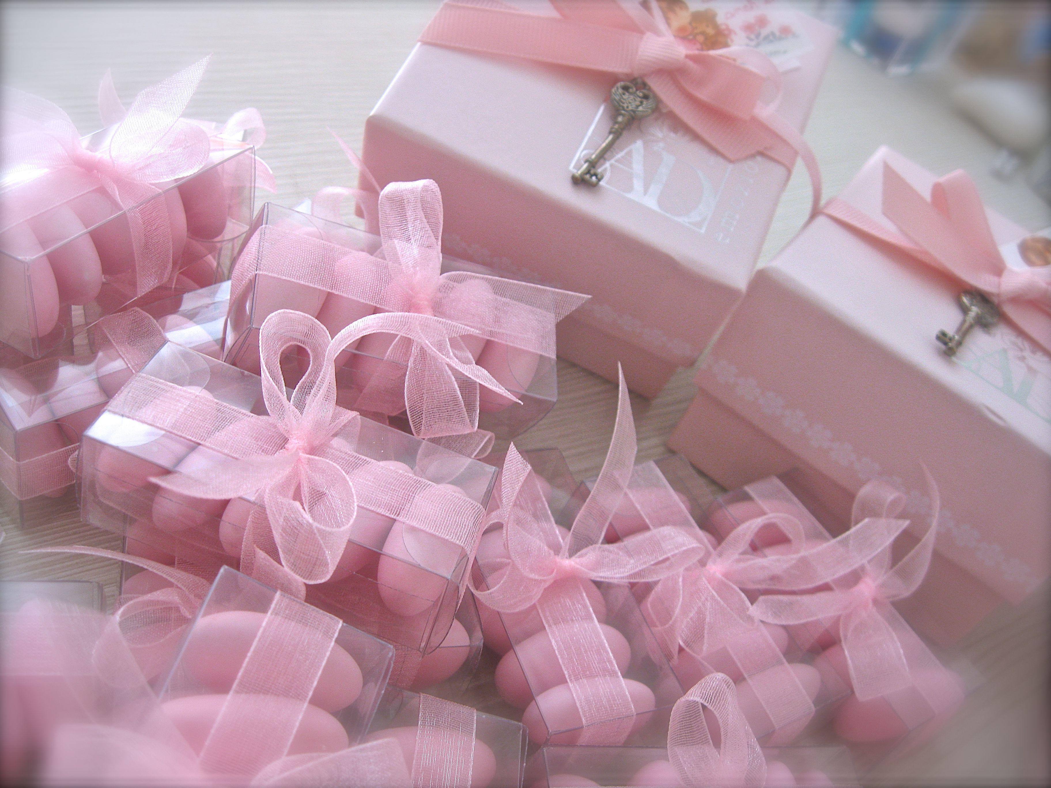 Rosa confetto #rosa #confetti #profumo #bomboniere #battesimo ...