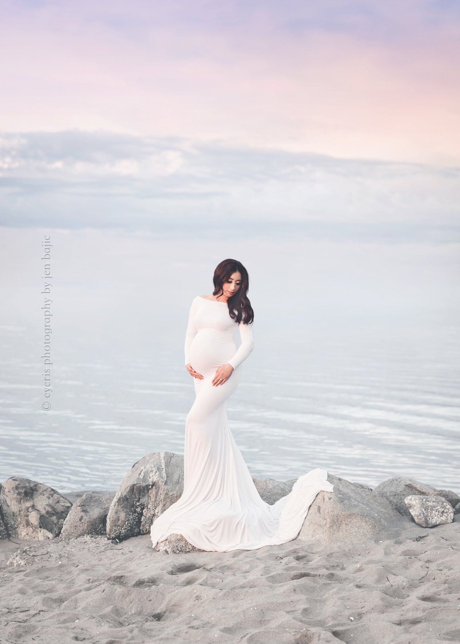 Krysten gown maternity pinterest maternity gowns fitted