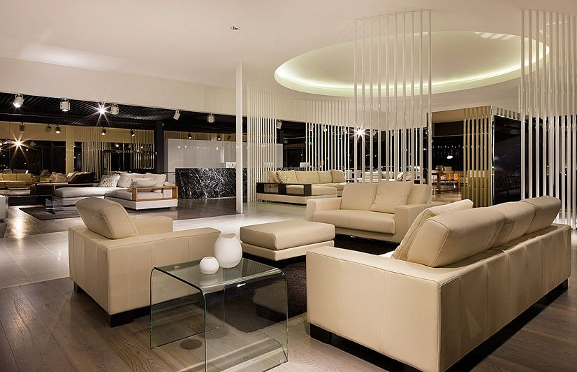 Furniture Showroom Interior Design Ideas Blur The Background Of