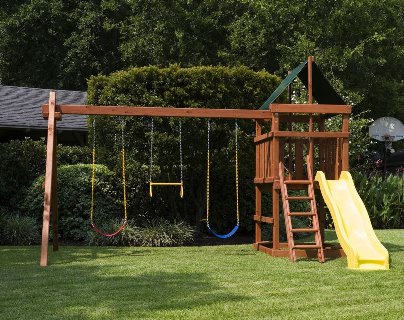 Our Playset Kits And Swingset Parts Are Specifically Put Together