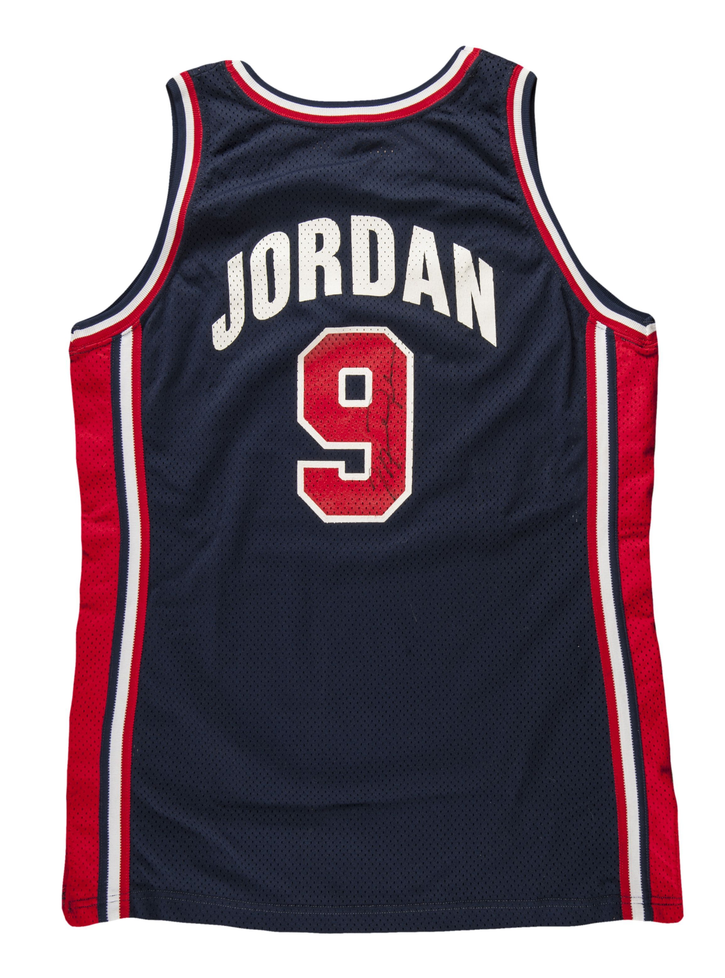 831f4f22455bae Auction Results Realized  1992 Michael Jordan USA Olympic Dream Team Game  Used and Signed Full Uniform (Basketball HOF LOA)  31
