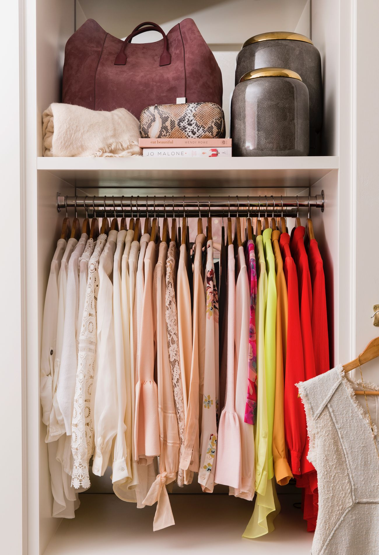 My Closet Revamp Rach Parcell Closet Designs Alice Lane Home Closet Inspiration