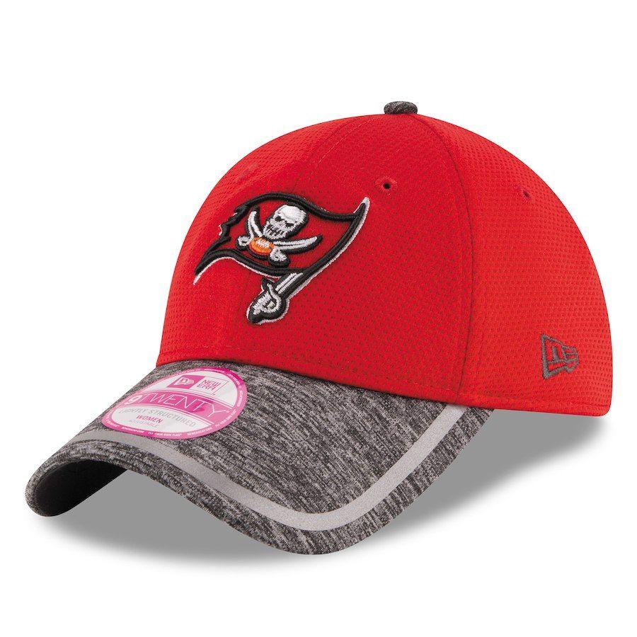 Women s Tampa Bay Buccaneers New Era Red Training Camp 9TWENTY Adjustable  Hat 8e04d2d368b4