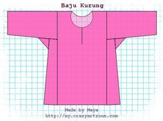Baju Kurung Teluk Belanga