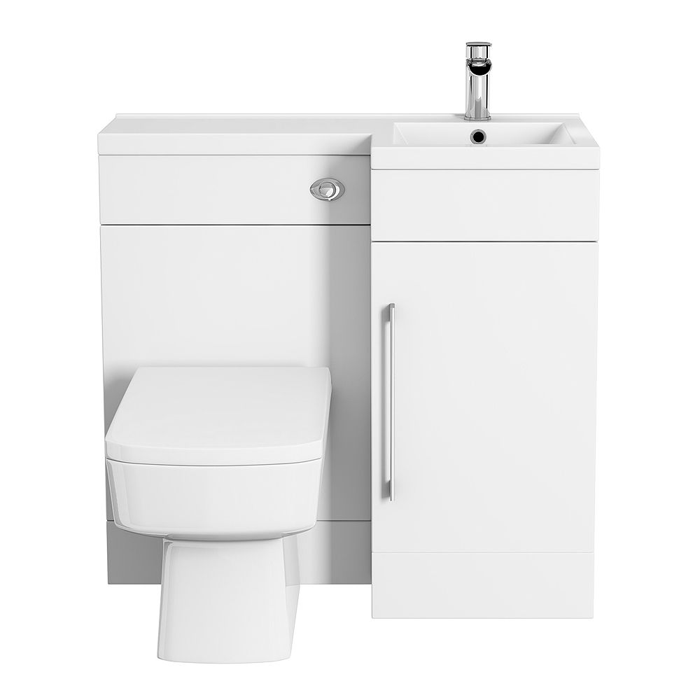Admirable Valencia Rh 900Mm Combination Bathroom Suite Unit Square Evergreenethics Interior Chair Design Evergreenethicsorg