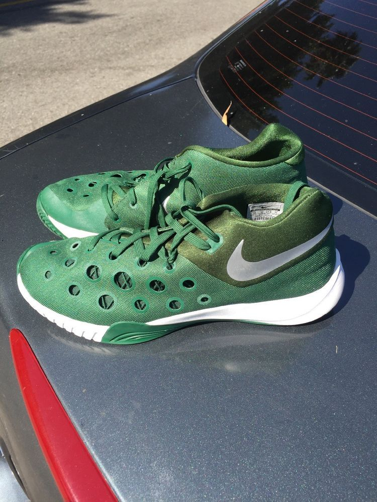 info for 1c453 8173c Nike ZOOM Hyperdunk Flywire Lietuva Green Basketball Shoes Sneakers Mens 12   fashion  clothing  shoes  accessories  mensshoes  athleticshoes