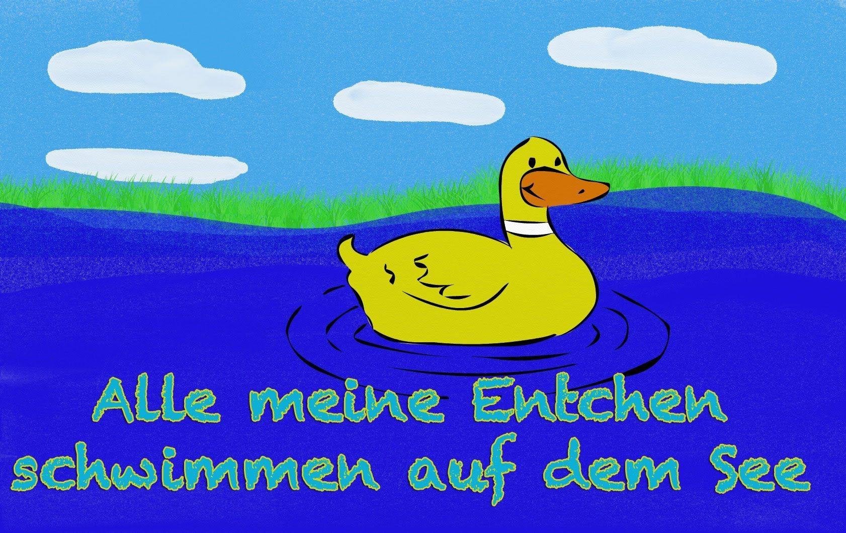 Alle meine Entchen - Kinderlieder deutsch - Kinderlieder zum Mitsingen