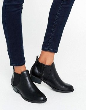 Head Over Heels By Dune Piro Black Chelsea Boots   shoes   handbag ... 98839fa252