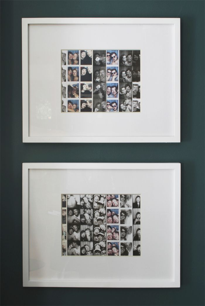 Great Way To Display Your Photo Strips Great Gifts Photo Booth