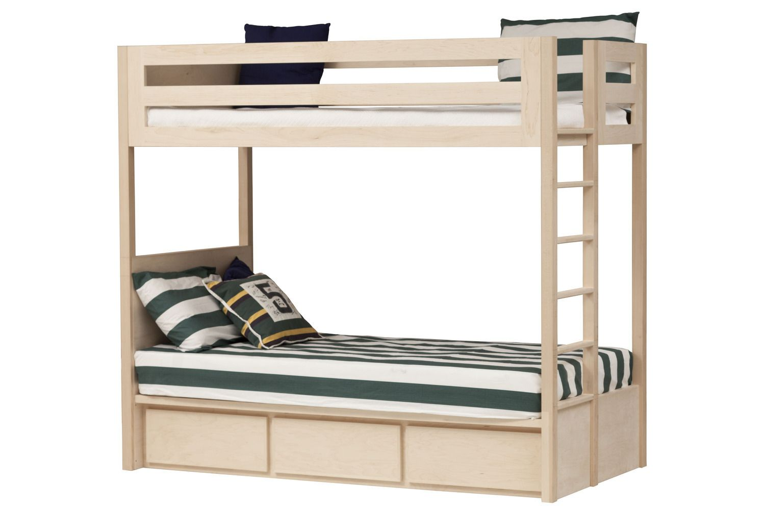 Twin Xl Bunk Beds With 3 Drawers Bunk Beds Boys Bedroom