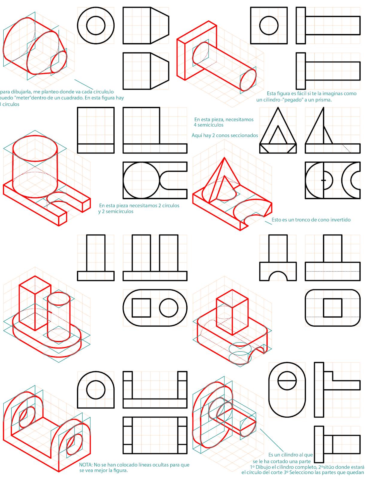Blog Sobre Dibujo Tecnico De Bachillerato Ejercicios Diedrico Selectividad Clases De Dibujo Tecnico Ejercicios De Dibujo Tecnicas De Dibujo