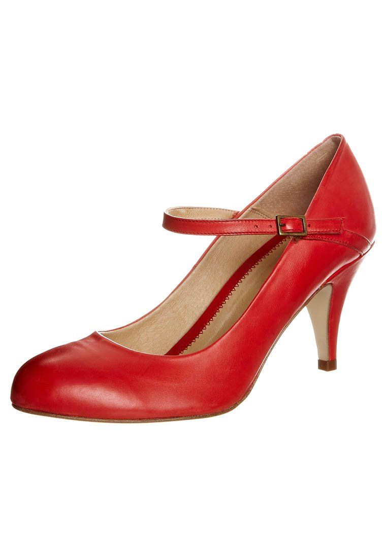 Pier One - Klassiska pumps - Rött - Perfect heel height ... 2ab403693b004